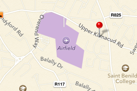 Airfield Park is a farm - but Apple's new map software, powered by Tomtom, takes the name a little too literally.