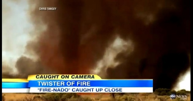 Step aside tornado, it's time to meet your terrifying cousin, FIRENADO