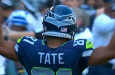 VIDEO: Is Golden Tate really only going to be fined $21k for this illegal hit?