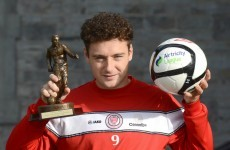Quigley picks up Player of the Month award
