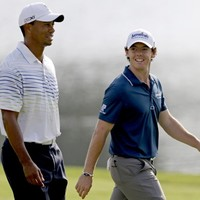 Tiger, Rose share lead at PGA Tour Championship
