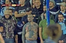 Snapshot: This Lazio fan will haunt your dreams