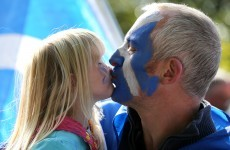 Thousands attend Scottish independence rally