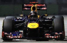 Vettel wins in Singapore as Alonso extends lead