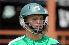 World T20: Porterfield backs himself to lead Irish challenge