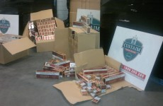 7.6 million contraband cigarettes seized at Dublin Port