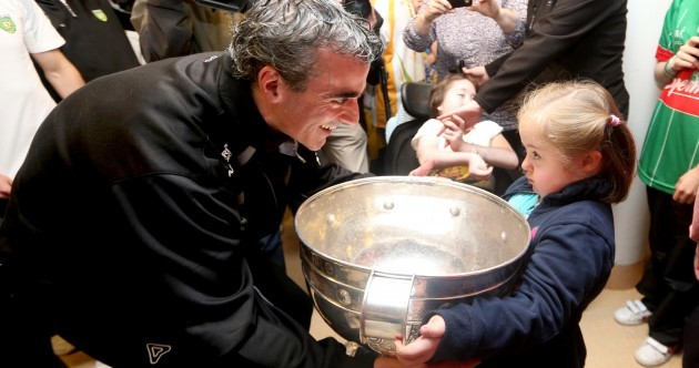 In pictures: Donegal's All-Ireland heroes visit Crumlin Children's Hospital