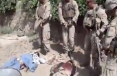 Two marines charged with urinating on Taliban dead