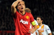 Vidic ruled out for two months
