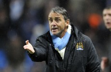 Mancini bemoans treatment from rival managers