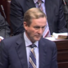 Kenny shrugs off impact of trilateral statement on banking deal