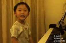 VIDEO: Five-year-old piano player will make your jaw drop
