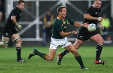 Goosen handed first Springboks start against Wallabies