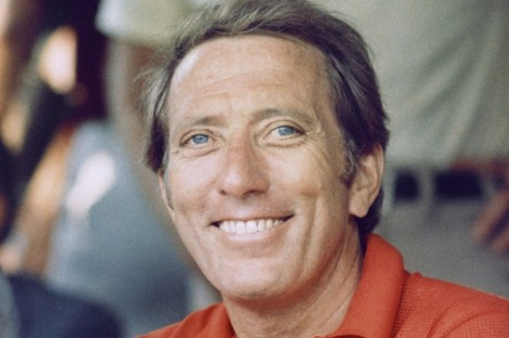 Andy Williams pictured in 1974