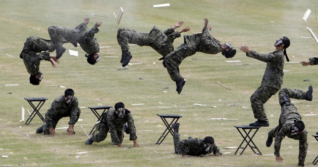 GALLERY: South Korea prepares for Armed Forces Day 2012