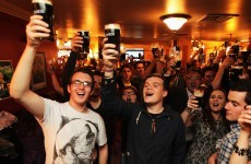 19 photos that show how Irish people celebrated Arthur's Day