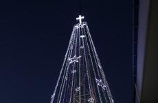 Korean tensions resurface... over giant Christmas tree