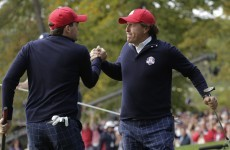 Ryder Cup: Bradley and Mickelson strike first for US