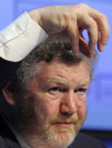 In photos: James Reilly is good with his hands