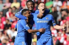Report: Chelsea stay top with win at Arsenal