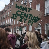 PHOTOS: 2,500 attend pro-choice march  in Dublin city centre