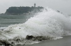 Powerful typhoon hits Japan mainland