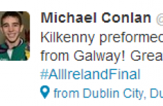 How Twitter reacted to Kilkenny's All-Ireland win