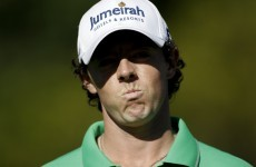 Rory McIlroy in Ryder Cup mix-up, almost misses tee-time