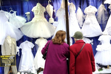 First Communion ceremonies - and potentially the traditionally white dresses that go with them - could become a thing of the past in Dublin.