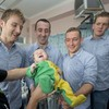 In pictures: All-Ireland-winning Cats drop into children's hospital