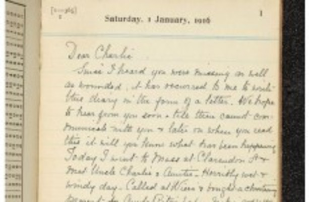 Note To Modo Its War Stupid >> Still The Battle Rages Dublin Mother S Wwi Diary Goes Online
