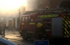 Forensic team in Athlone as fire still burns