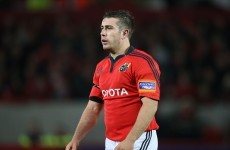 JJ Hanrahan hungry for more action with Munster after senior debut