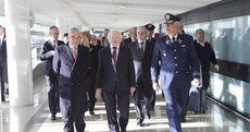 Higgins to meet Chilean president on first full day of South America trip
