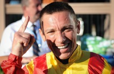 Dettori pairs up with Camelot for the Arc