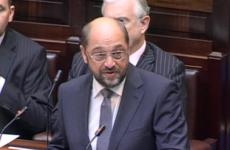 European Parliament president calls for deal on Irish debt before 2013