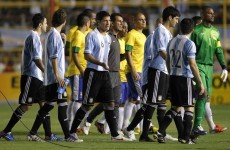 VIDEO: Lights go out on Argentina-Brazil friendly
