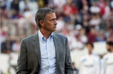 Stem the flow: Jose Mourinho wants time-outs in football