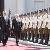 Pictures: Day one of Michael D Higgins in Chile