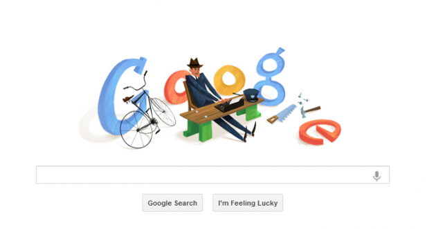 Who's that Irish person in today's Google Doodle?