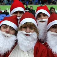 'Twas the night before Christmas in the fooball world
