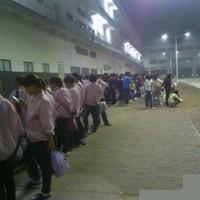 iPhone manufacturer denies strike at Chinese factory