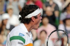 Milos Raonic stuns Andy Murray to reach Tokyo final