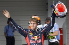 Formula 1: Vettel expresses delight at faultless qualifying session in Japan
