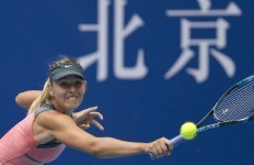 Tennis: Sharapova, Azarenka set up final meeting in Beijing