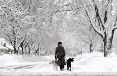 Snowstorm strikes east coast of US