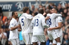 Tottenham secure fourth win in a row against Villa
