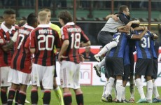 Ten-man Inter claim Milan derby victory