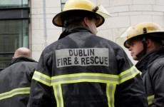 Road remains closed after fire at Dublin scrapyard