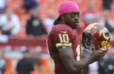 Two-minute warning: RG3 hit hard and other must-see plays from this weekend's NFL